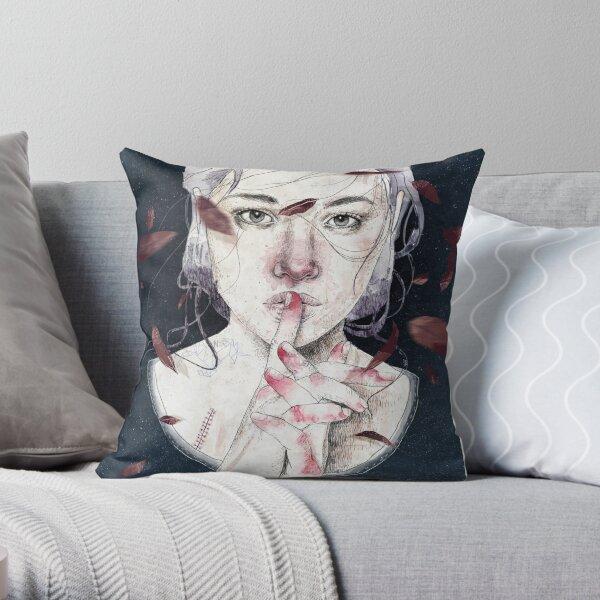 MIRROR by Elenagarnu Throw Pillow