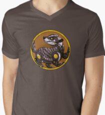 MechBadger House V-Neck T-Shirt
