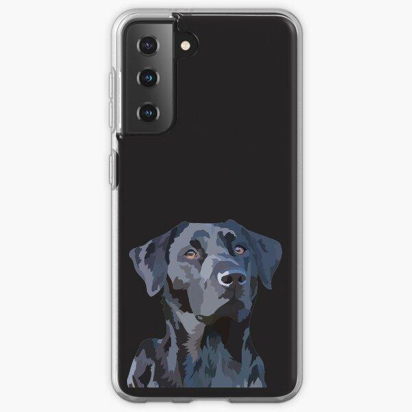 Black Labrador 2 Samsung Galaxy Soft Case