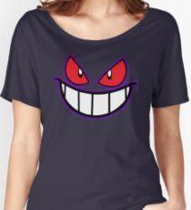 Gengar Monster Purple Pokeball Women's Relaxed Fit T-Shirt