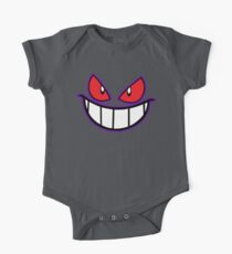 Gengar Monster Purple Pokeball One Piece - Short Sleeve