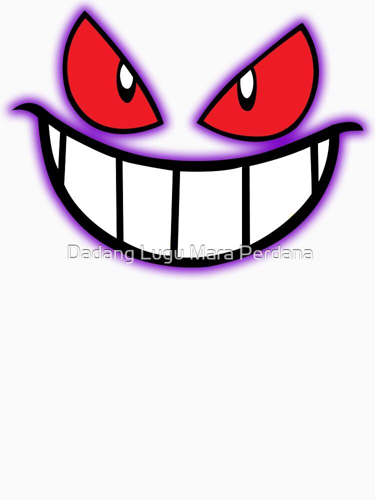 Gengar Monster Purple Pokeball by dezigner007