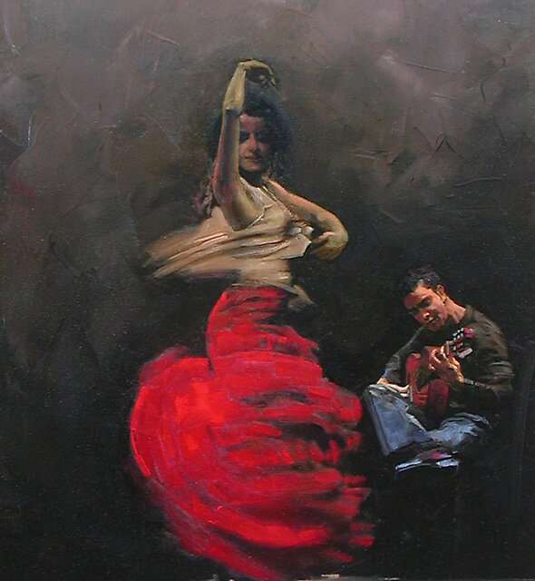 flamenco 2 by Demetrios Vlachos