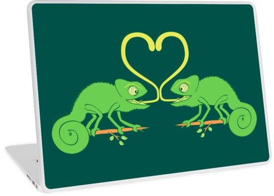 Chameleons Sticky Love by Zoo-co