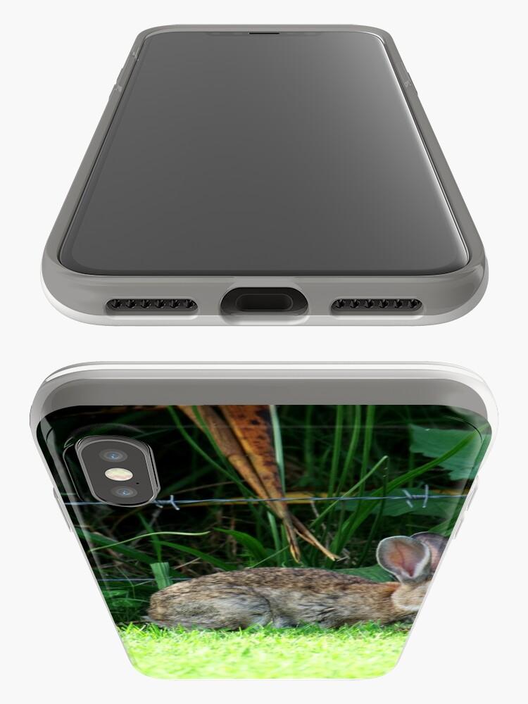 """Alternative Ansicht von In den unsterblichen Worten von """"Bugs Bunny"""" ........... """"Was ist los Doc .......? """" iPhone-Hülle & Cover"""