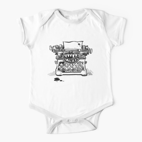 SCHREIBMASCHINE FROM HELL Baby Body Kurzarm