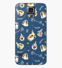 Cockatiel Screm Case/Skin for Samsung Galaxy