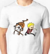 AdventureTime_Calvin&Hobbes Unisex T-Shirt