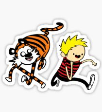 AdventureTime_Calvin&Hobbes Sticker