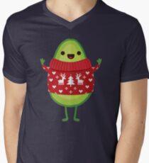 Avo Merry Christmas! Men's V-Neck T-Shirt
