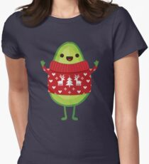 Avo Merry Christmas! Women's Fitted T-Shirt