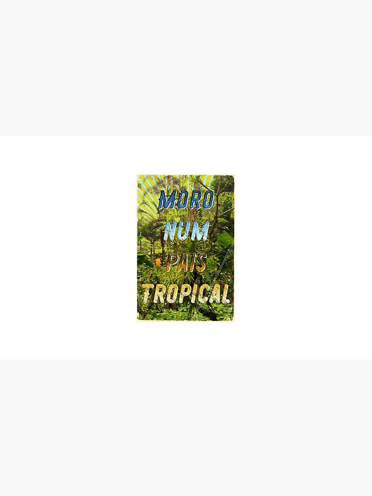 Pais Tropical – A Hell Songbook Edition - Olympic Games Rio de Janeiro - Brazil von Hell-Prints