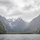 Milford Sound  NZ by DebbyScott
