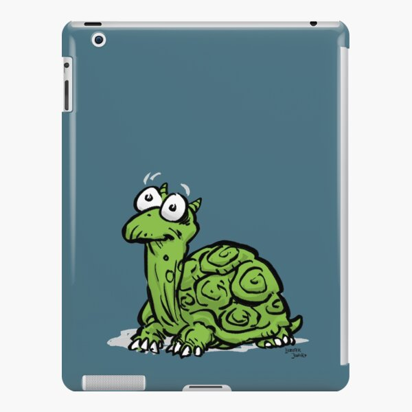 CORNIBUS SCHILDKRÖTE FARBIG iPad – Leichte Hülle