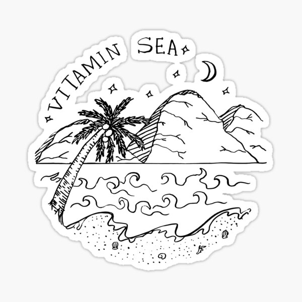 Vitamin Sea  Sticker