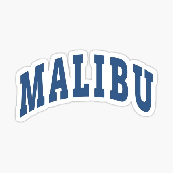 Malibu Capital Sticker
