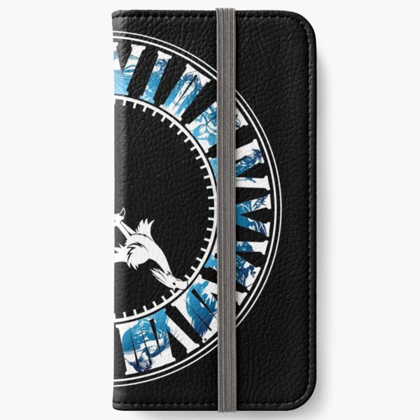 Final Fantasy - Final Hour (blue) iPhone Wallet