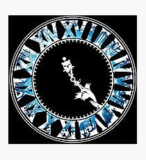 Final Fantasy - Final Hour (blue) Photographic Print