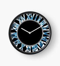 Reloj Final Fantasy - Hora final (azul)
