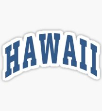 Hawaii Capital Sticker