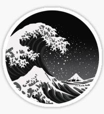 The Dark Wave - Circular Sticker