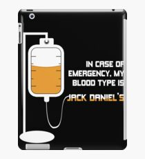 Jack Daniel's Blood Type iPad Case/Skin