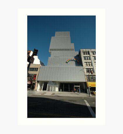 New Museum of Contemporary Art Art Print