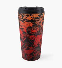 Final Fantasy Moogle-verse (red) Travel Mug