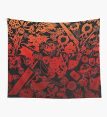 Final Fantasy Moogle-verse (red) Wall Tapestry