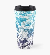Moogle-verse (blue) Travel Mug