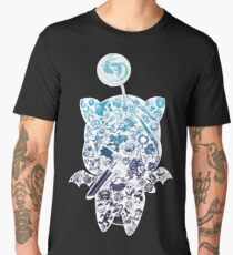 Moogle-verse (blue) Men's Premium T-Shirt