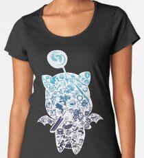 Moogle-verse (blue) Women's Premium T-Shirt