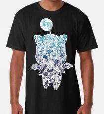 Moogle-verse (blue) Long T-Shirt