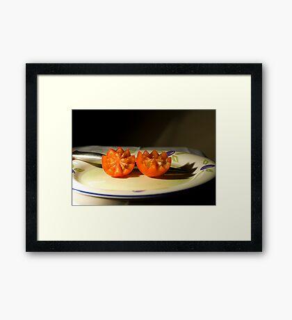 Tasty Tomatoes Framed Print