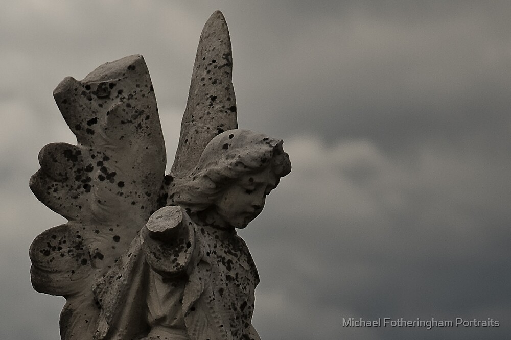 Melancholic Angel by Michael Fotheringham Portraits
