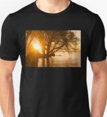 Hot Velvety Sunshine on the Shore of the Lake Unisex T-Shirt
