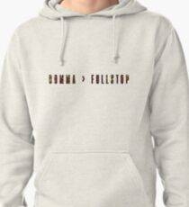 Comma > Fullstop- Coloured Pullover Hoodie