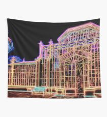 Neon Glasshouse Wall Tapestry