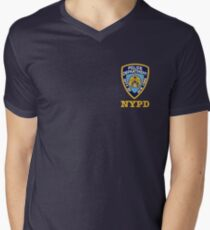 nypd logo Men's V-Neck T-Shirt