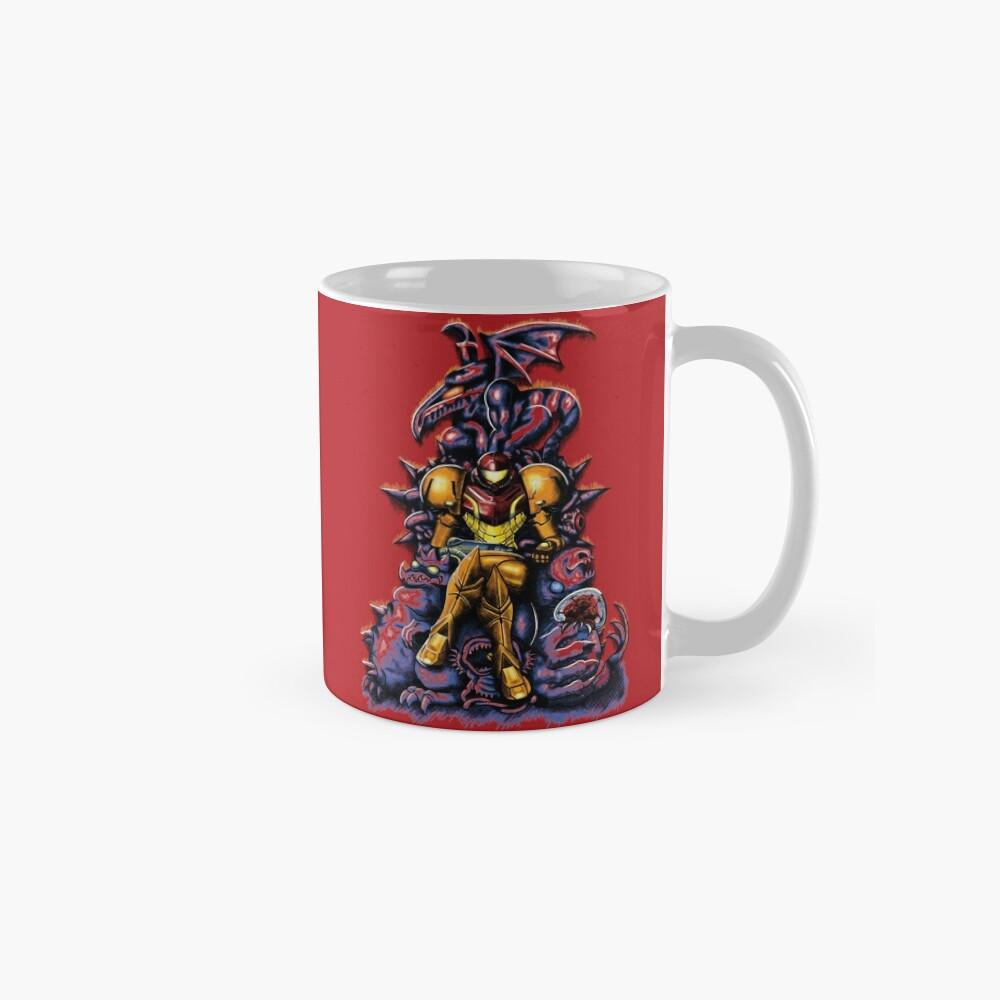 Metroid - The Huntress 'Throne -Gaming Taza