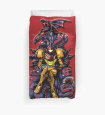 Metroid - The Huntress' Throne -Gaming Duvet Cover