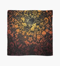 Kingdom Hearts - Keyhole (orange) Scarf
