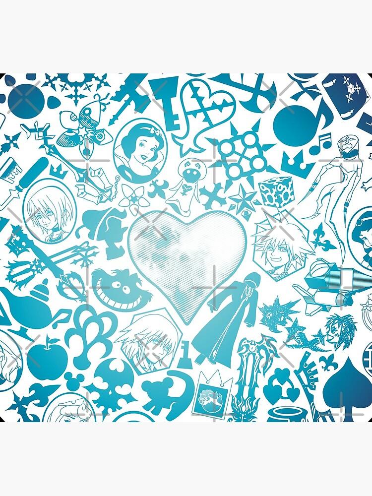 Kingdom Hearts - Keyhole (blue) by seviesphere
