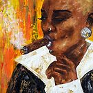 Smoking with grace by amoxes