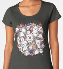 Final Fantasy Moogle-verse II Women's Premium T-Shirt