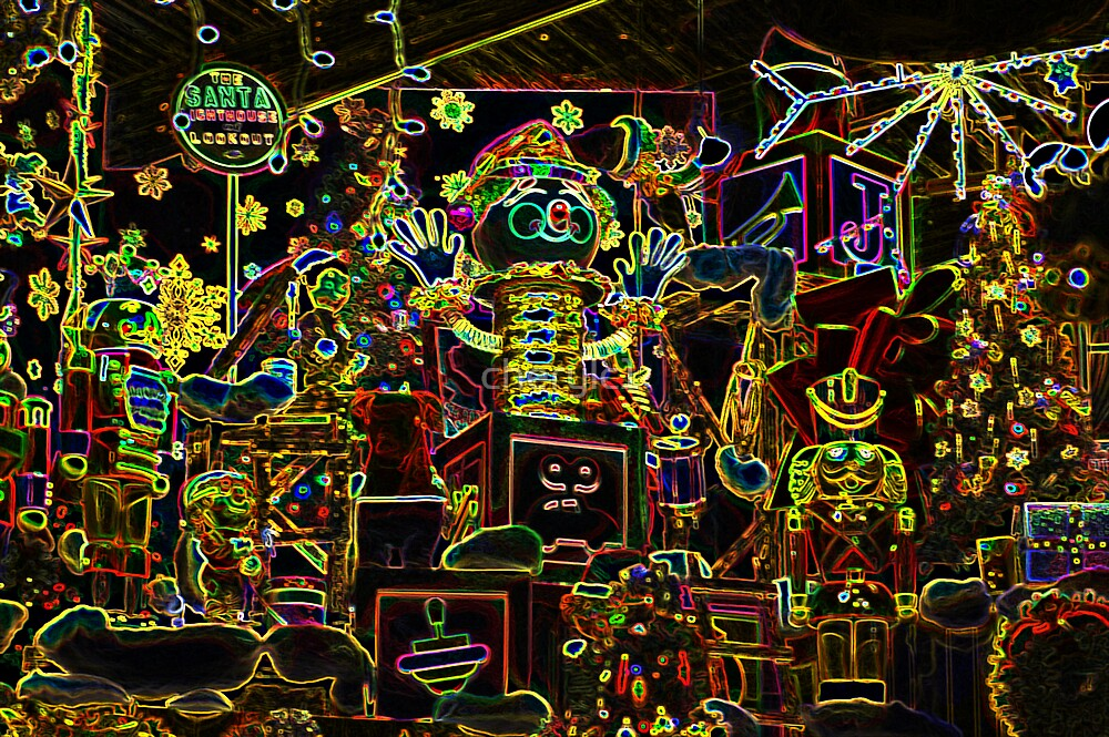 The Excitement of Christmas-glow by cherylc1