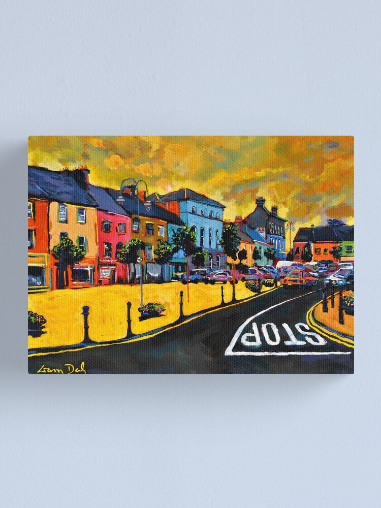 Alternate view of Listowel. The Square. Kerry, Ireland. Canvas Print