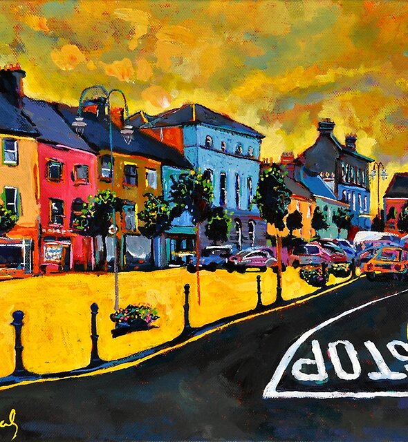 Listowel. The Square. Kerry, Ireland. by eolai