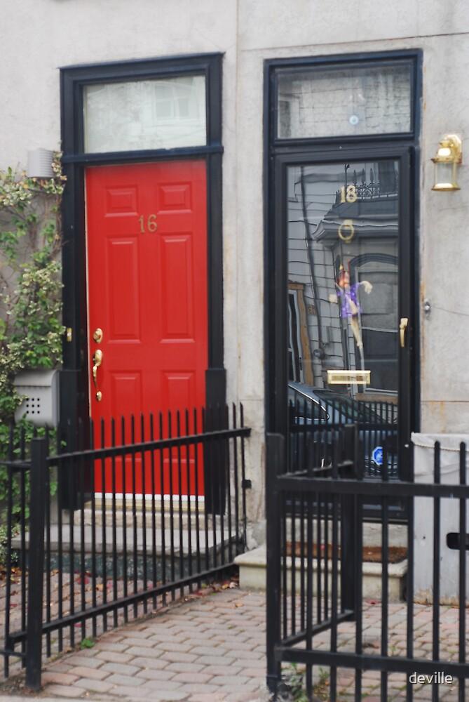 doors on Brite Street Toronto by deville