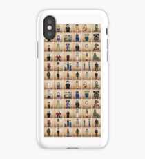 Buffy - Mini Monsters  (The High School Years) illustration  iPhone Case
